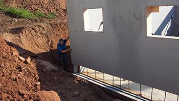 Wandsysteme von Hofmann Bau